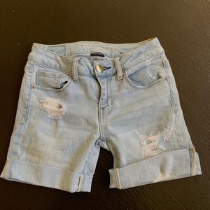American Eagle shorts(were jeans before then cut)